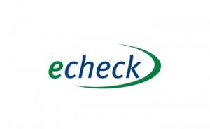 echeck deposit option